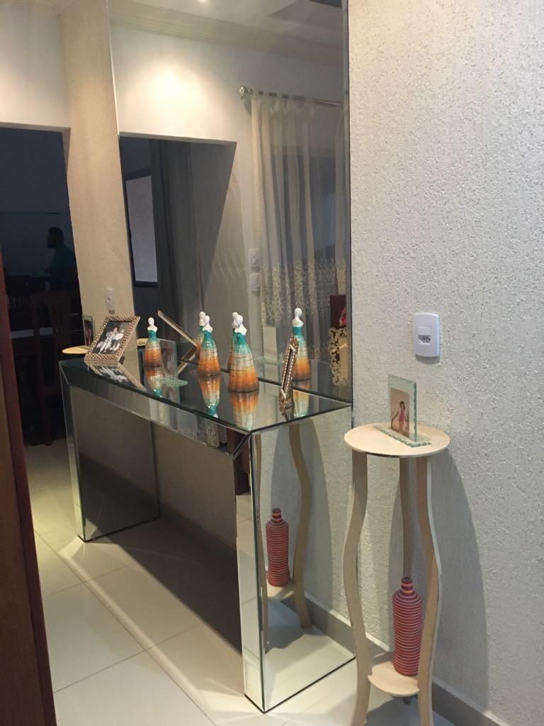 Armario De Solteiro Com Espelho ~ Aparador de vidro com espelho Globo Vidros